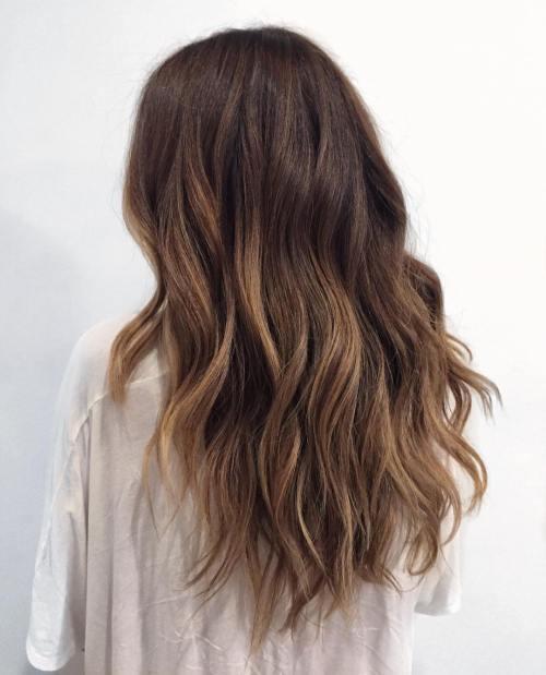 Ash Brown Highlights Hair Color