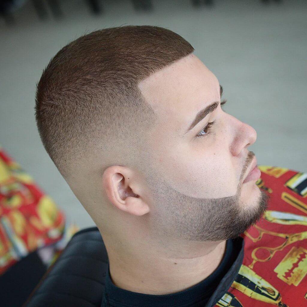 Buzzcut Hairstyle Men