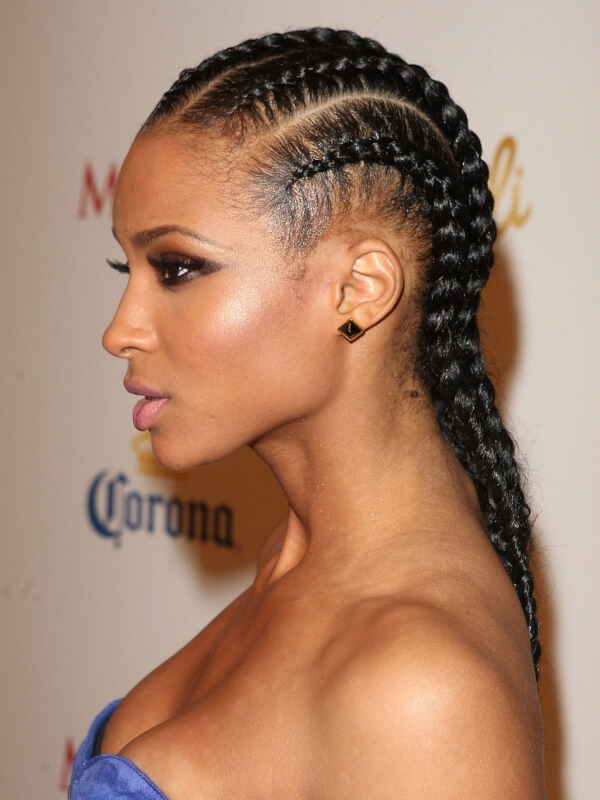Remarkable Hairstyles With One Pack Of Braiding Hair Braids Short Hairstyles For Black Women Fulllsitofus