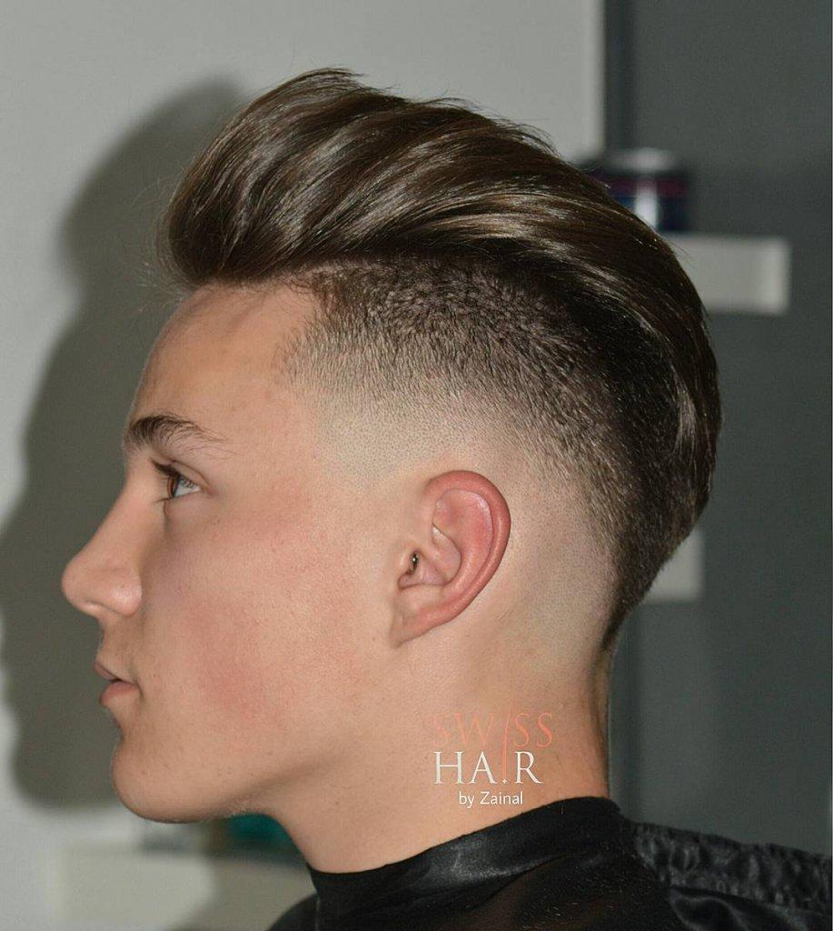 High Fade Haircut Men