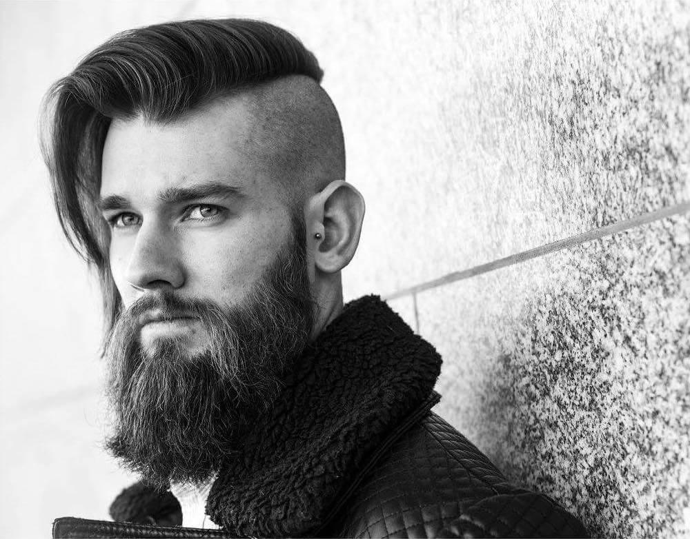 Long Hair Undercut Men