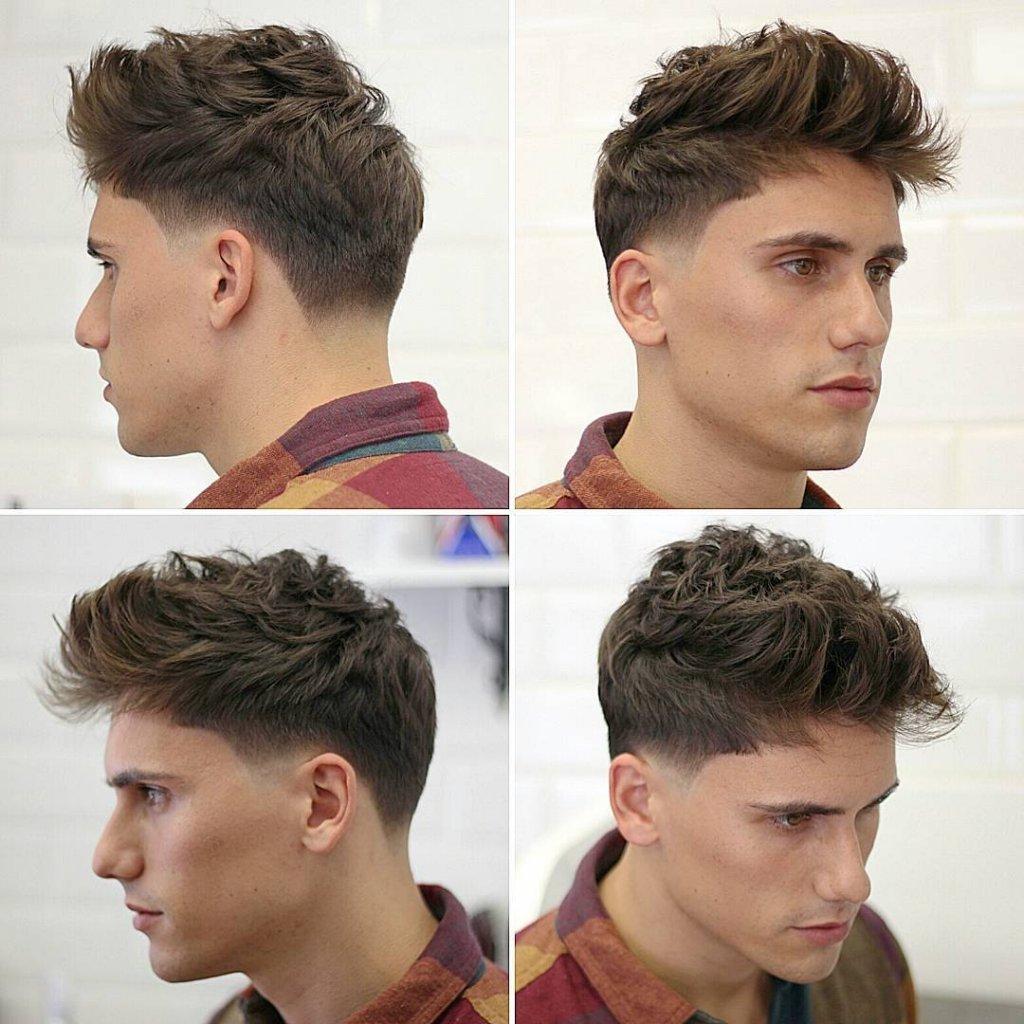 Medium Length Hairstyle Men