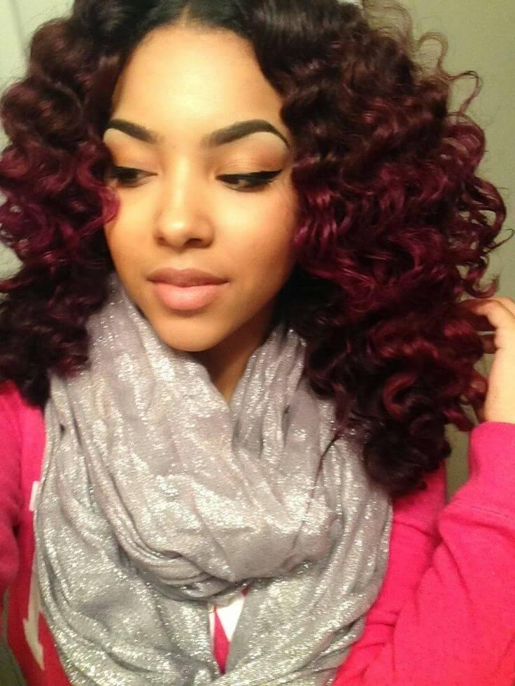 natural black hair color