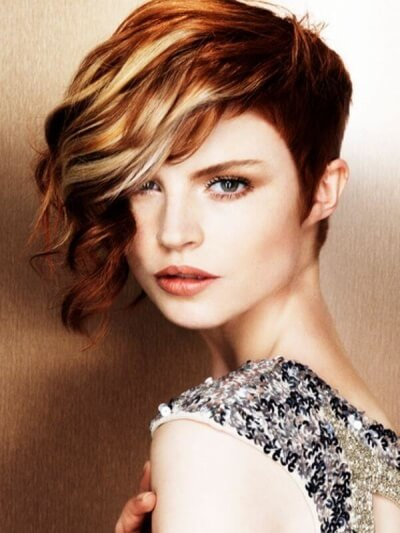 haircolor ideas for short hair