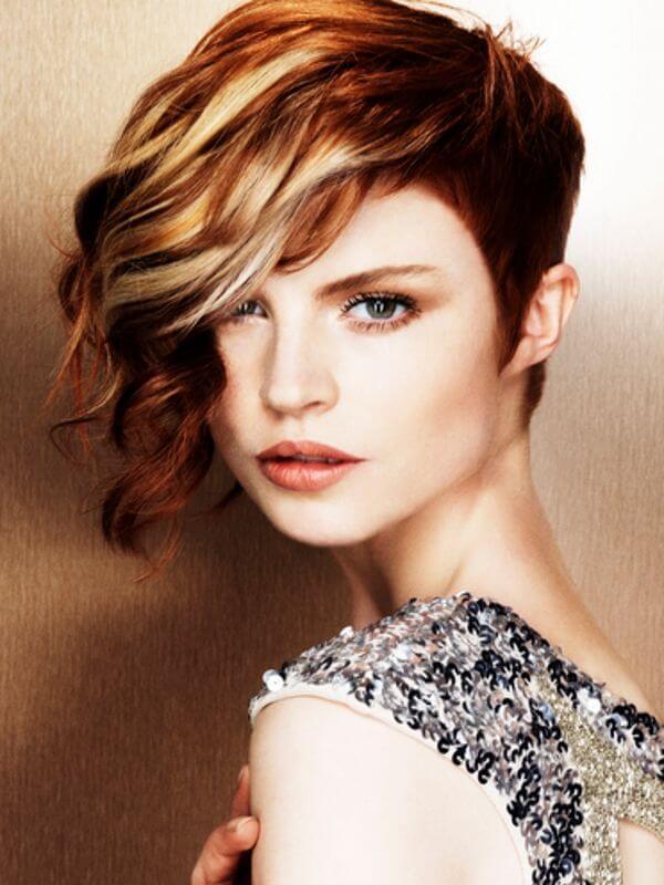 haircolor ideas for short hair
