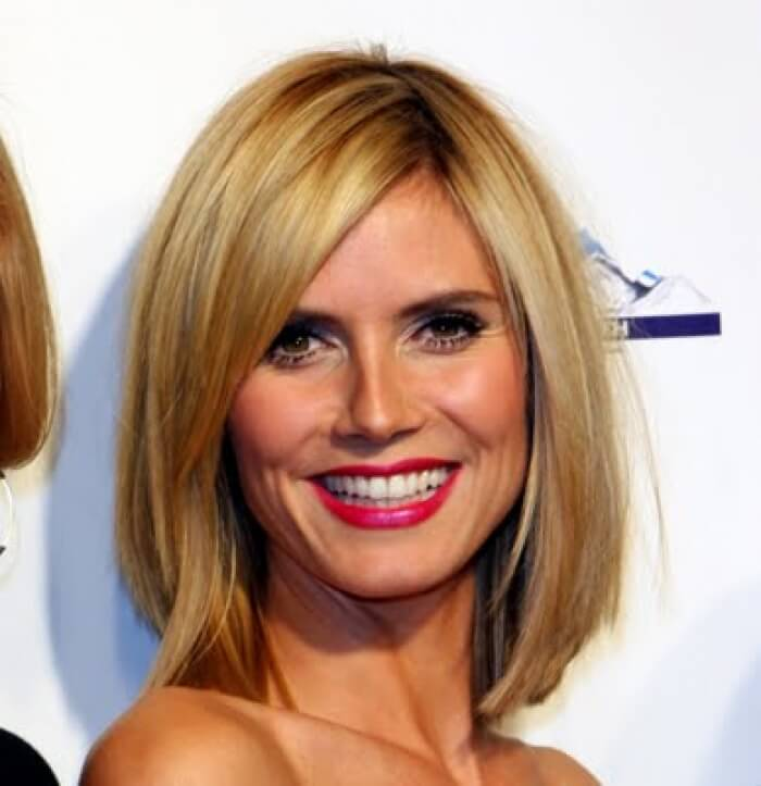 shoulder length hairstyles for women over 40