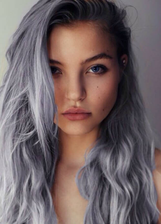 Tips for choosing the color for gray hair