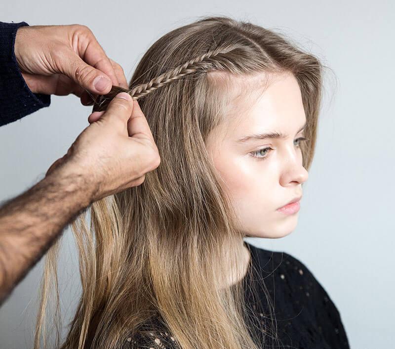ways to style medium length hair
