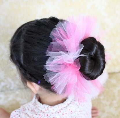ballerina bun - hair updos for long hair