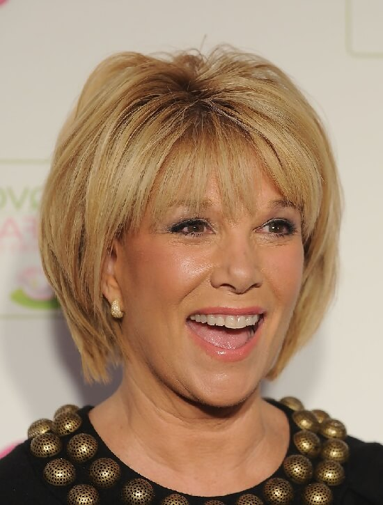 bob hairstyles with bangs for women over 50
