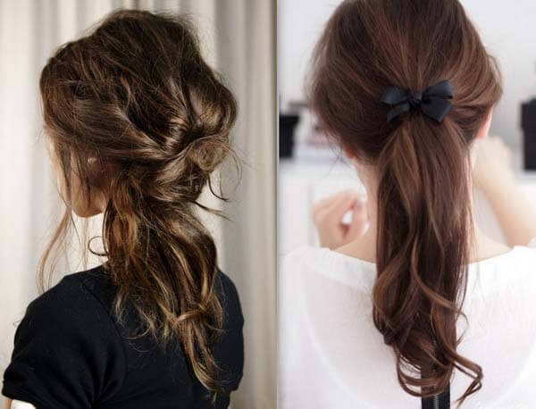 easy and quick hairstyles for school