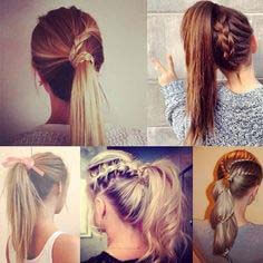 easy to do hairstyles for school
