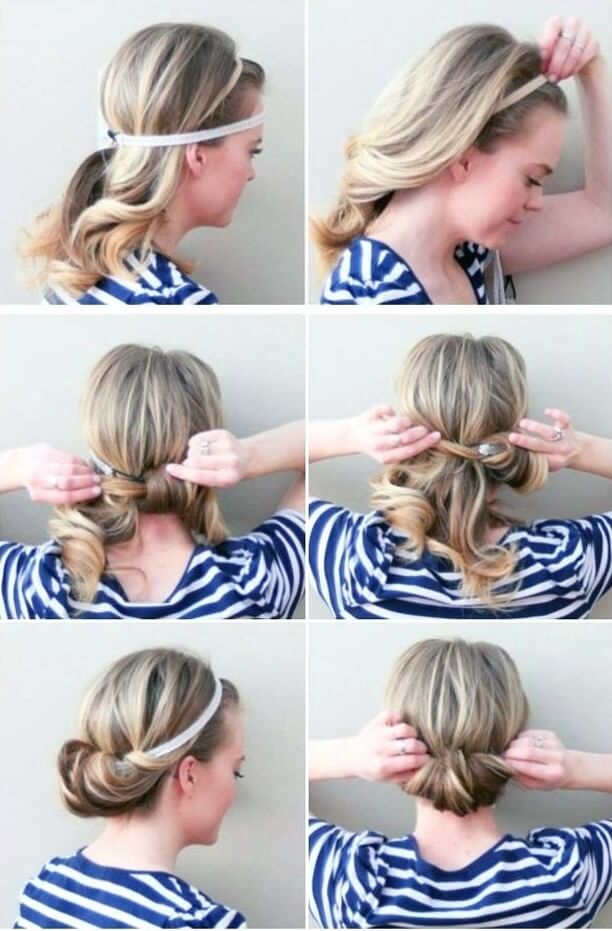 five minute hairstyles
