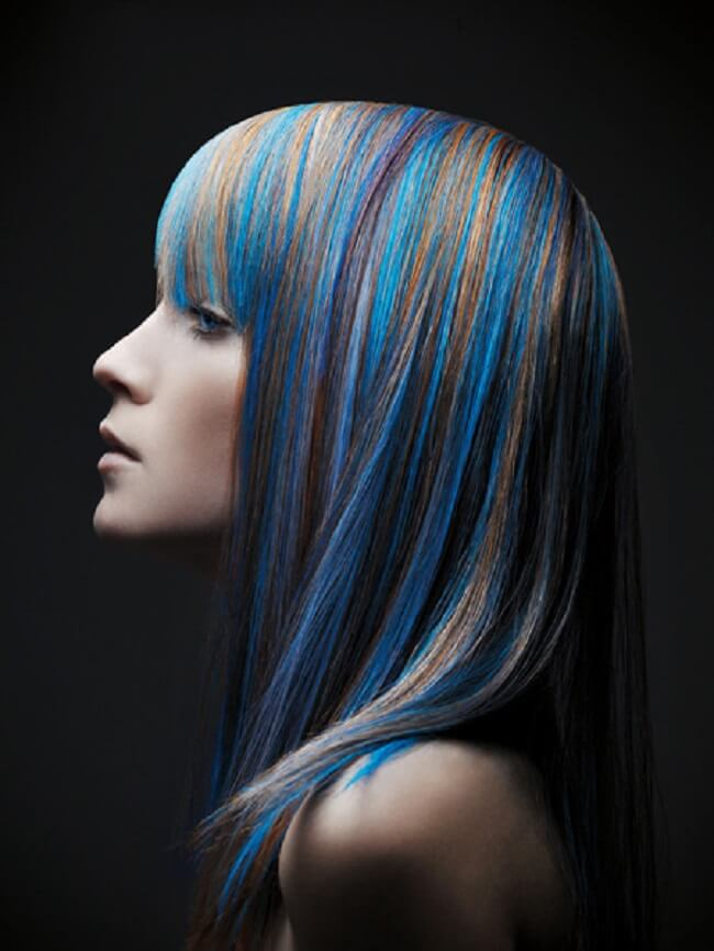 funky hair color ideas