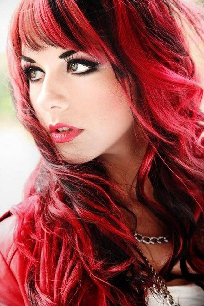 funky red hair color ideas
