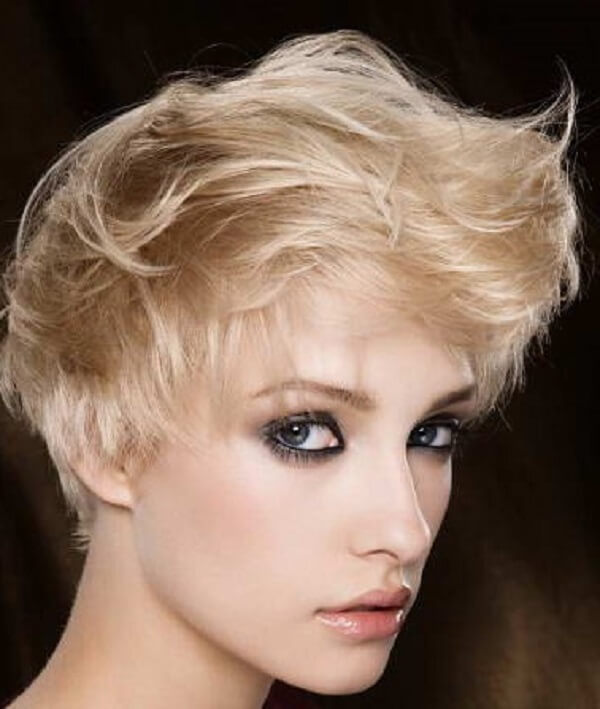 hairstyle for occasions short hair