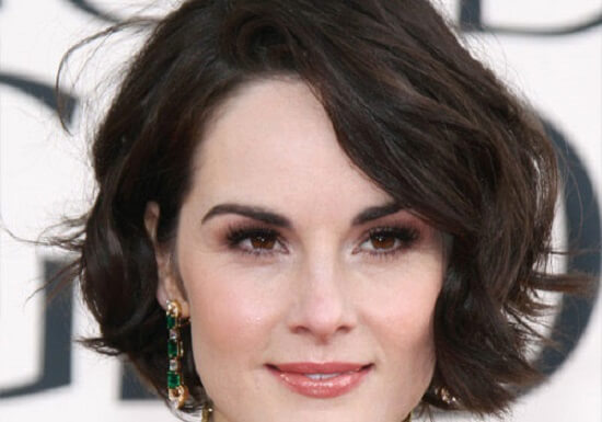 hairstyles for square faces over 40