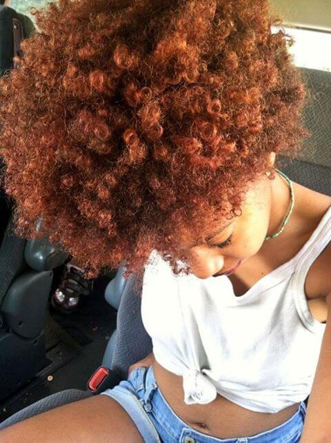 how to color natural hair