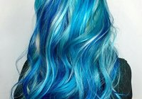 Bright Hair Color Ideas Turqoise Blue Mermaid