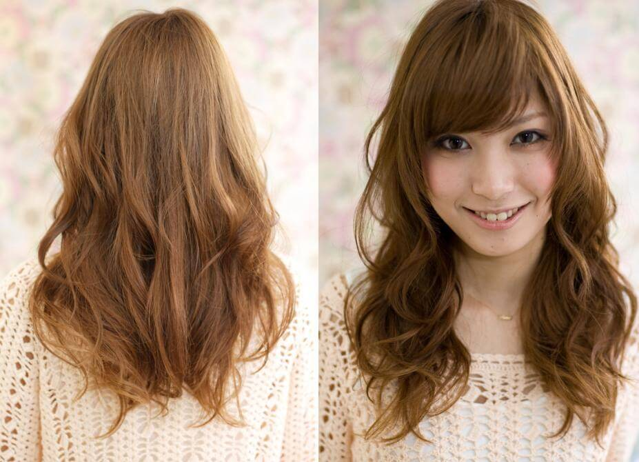 layered and bangs hairstyle - how to