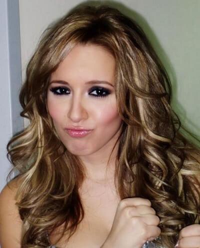 light golden brown hair color on dark brown hair