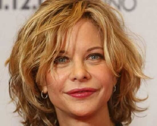 long bob wavy hairstyles for women over 50
