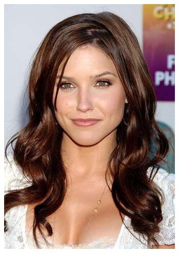 pretty hair colors for brown eyes