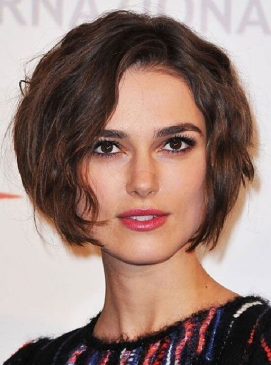 short hairstyle for square faces