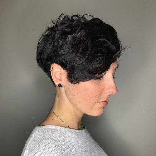 short hairstyles for 50 year old woman with thick hair