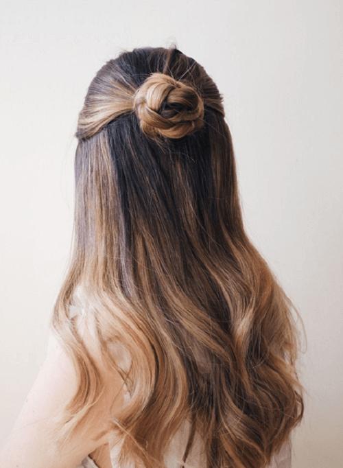 hairstyles bun ideas
