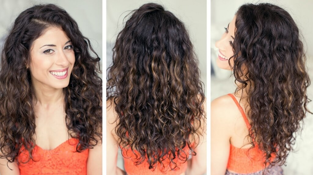 ways to style curly hair