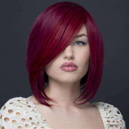 wild hair color ideas for short hair