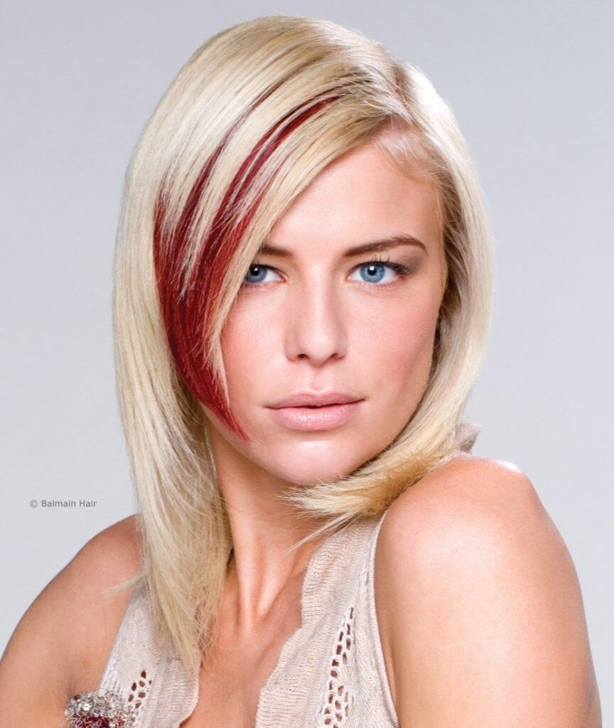 wild hair color ideas bold red